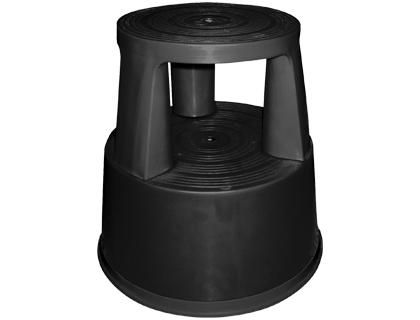 taburete de 2 niveles negro