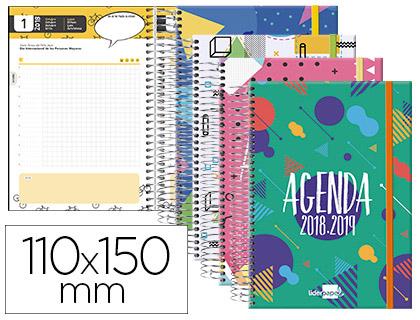 Agenda Escolar 18-19 Castellano, Catalán, Euskera y Gallego MINI