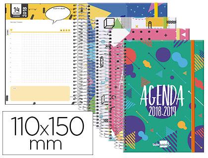 Agenda Escolar 18-19 Catalán Día Página MINI