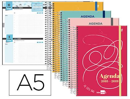 Agenda Escolar 18-19 College Bilingüe 2 DÍAS PÁGINA