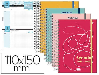Agenda Escolar 18-19 College Bilingüe 2 DÍAS PÁGINA MINI