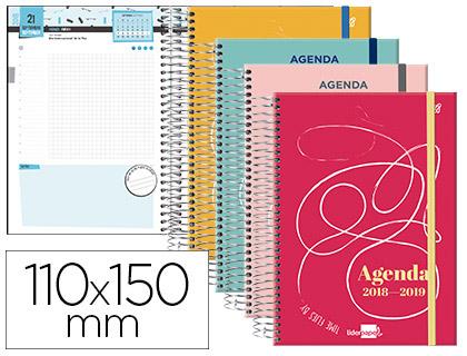 Agenda Escolar 18-19 College Bilingüe Día Página MINI