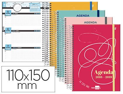 Agenda Escolar 18-19 College Bilingüe Semana Vista MINI