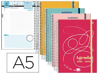 Agenda Escolar 18-19 College Date Bilingüe DÍA/PÁGINA 63780