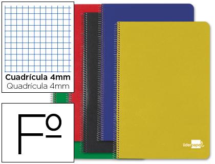 Cuaderno espiral folio tapa dura 80h