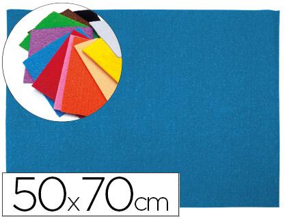 Goma EVA Textura Toalla Azul 50x70cm espesor 2 mm