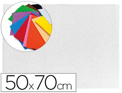 Goma EVA Textura Toalla Blanco 50x70