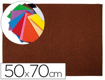 Goma EVA Textura Toalla Marrón 50x70