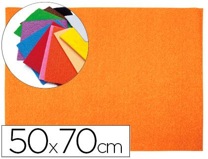 Goma EVA Textura Toalla Naranja 50x70