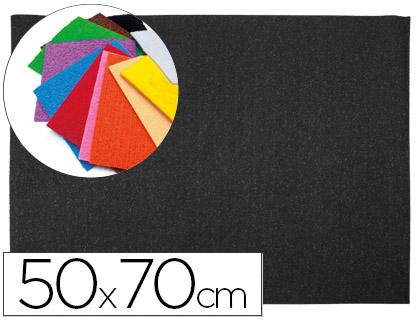 Goma EVA Textura Toalla Negra 50x70