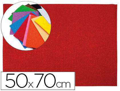 Goma EVA Textura Toalla Roja 50x70