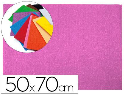 Goma EVA Textura Toalla Rosa 50x70