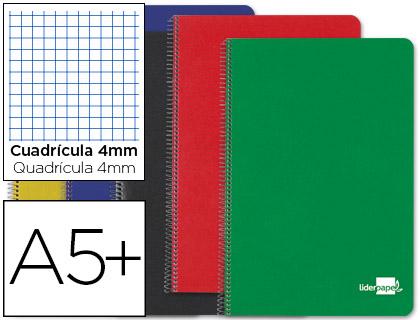 cuaderno escolar tapa dura