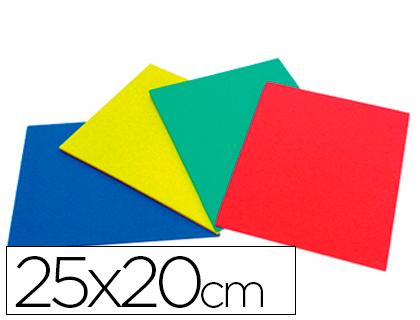 Caucho para picar 20x25 cm (4 colores)