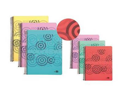 Cuadernos tapa de polipropileno