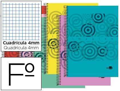 cuaderno tapa polipropileno