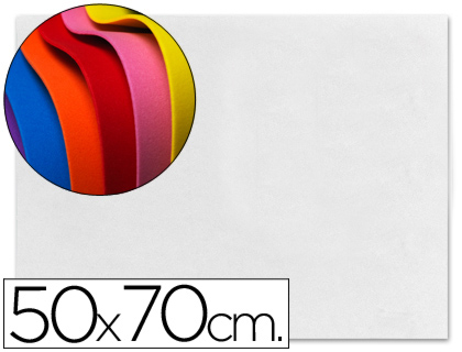 goma eva blanca 50x70