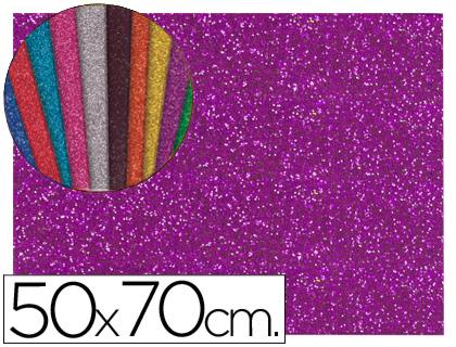 goma eva Purpurina Violeta 50x70