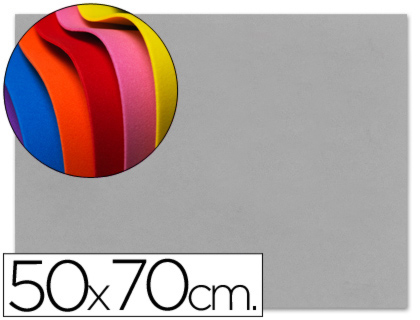 goma eva gris 50x70