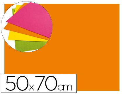 goma eva naranja fluor 50x70