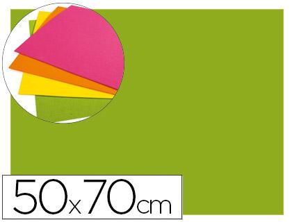 goma eva verde fluor 50x70
