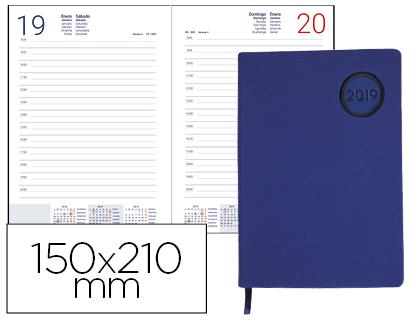 Agenda 2019 día página A-5 Kilkis Azul