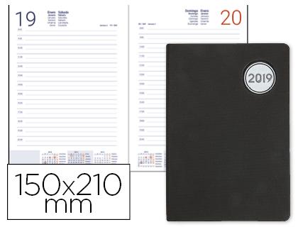 Agenda 2019 día página A-5 Kilkis negra