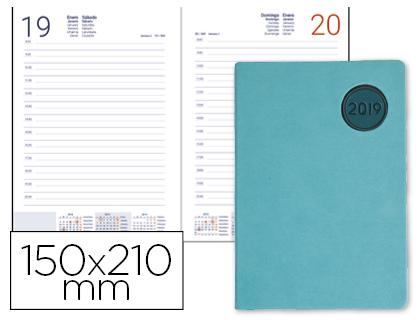 Agenda 2019 día página A-5 Kilkis turquesa