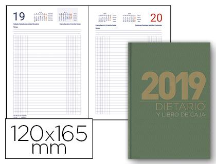 Dietario 2019 de 12 x 16,5 cm colores surtidos