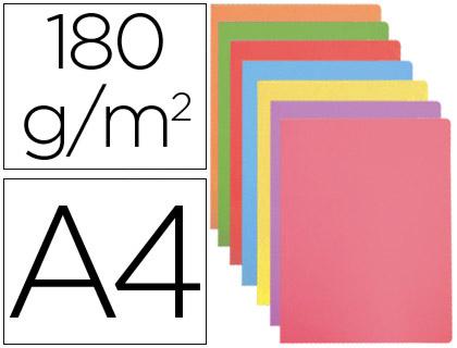 Subcarpeta cartulina Gio A-4 colores pastel surtidos 50 unds.