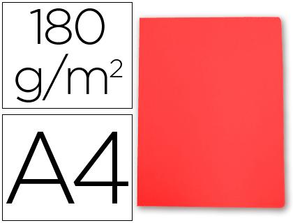 Subcarpeta cartulina Gio A-4 rojo pastel