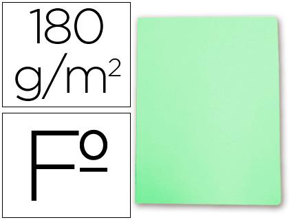 Subcarpeta cartulina Gio FOLIO verde pastel 50 unds.