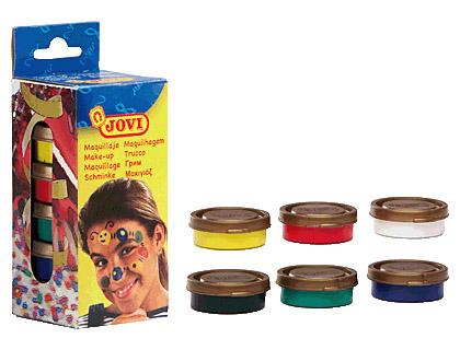 Maquillaje Jovi en crema 6 colores surtidos