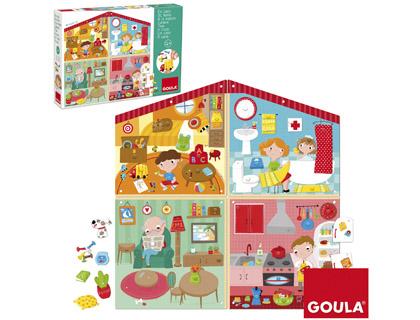 Puzzle casa 38 piezas Goula + de 4 años