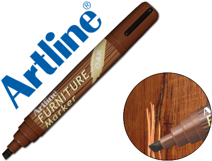 Rotulador furniture ROBLE punta biselada Artline