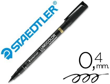 Rotulador permanente Staedtler Lumocolor Negro 0,4 mm