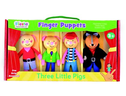 marionetas los tres cerditos