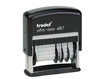 Formulario automático con fechador (12 textos comerciales)