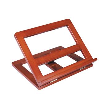 Atril de madera sujetalibros 4 posiciones