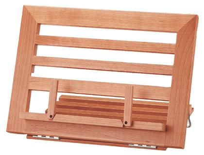 Atril sobremesa en madera varias posiciones