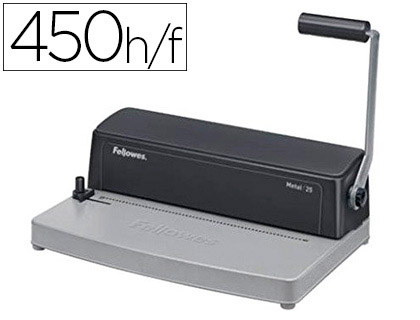 encuadernadora fellowes metal25