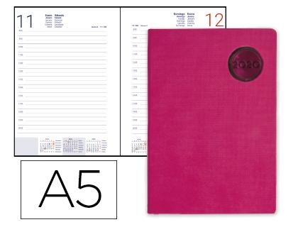 Agenda 2020 día página A-5 Kilkis Rosa