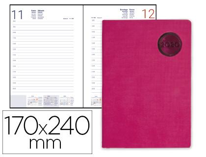 Agenda 2020 día página 17 x 24 cm Kilkis Rosa