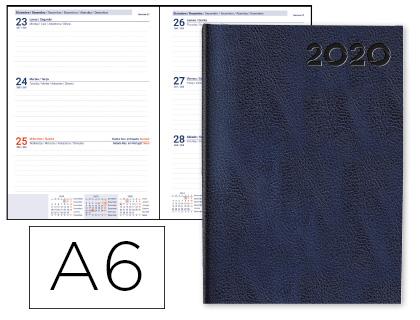Agenda 2020 de bolsillo día página Corfu Azul