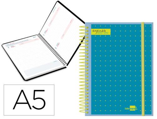 Agenda escolar 20-21 bilingue D-P personalizable 11370g
