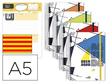 Agenda Escolar 19/20 Bilingüe Día Página Classic Catalán
