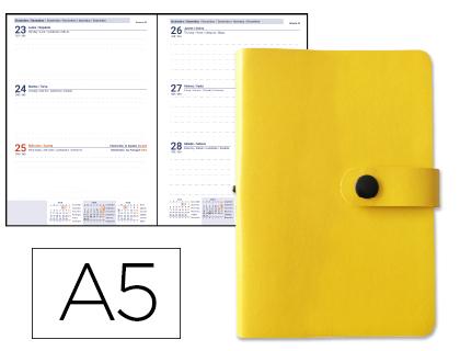 agenda 2020 semana vista amarilla